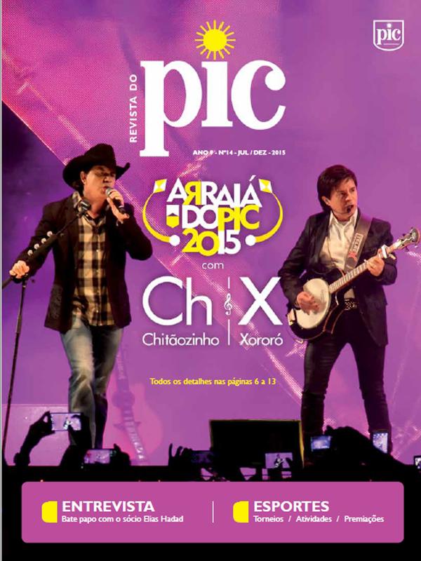 Revista do PIC – Julho a Dezembro de 2015