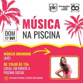 Música na Piscina